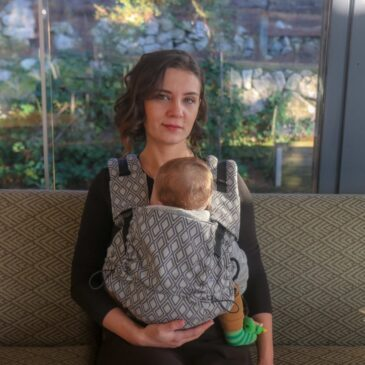Neko Switch Baby size Lycia Elmas - Marsupio ergonomico regolabile