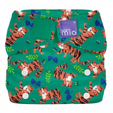Pannolino lavabile Tutto in uno Taglia Unica - Tigre Tango - Bambino Mio