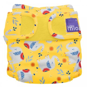 Pannolino lavabile Miosoft Cover - Taglia 1 - Elefante estroso - Bambino Mio