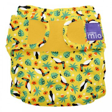 Pannolino lavabile Miosoft Cover - Taglia 1 - Tucano - Bambino Mio