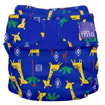 Pannolino lavabile Miosoft Cover - Taglia 2 - Giraffe - Bambino Mio