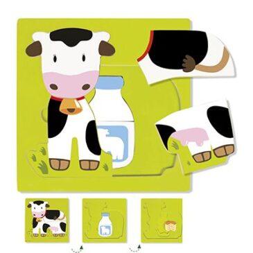 Puzzle mucca - Goula