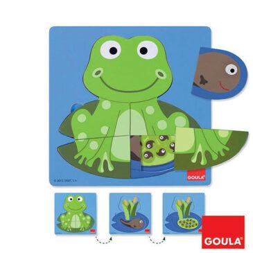 Puzzle rana- Goula
