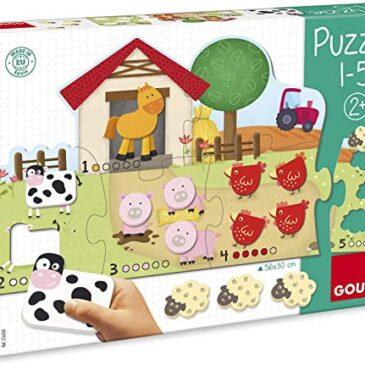 Puzzle conta da 1 a 5 - Goula