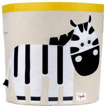 3 Sprouts - Cesto Portatutto Zebra