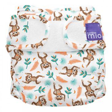 Pannolino lavabile Miosoft Cover - Taglia 2 - Spider monkey - Bambino Mio
