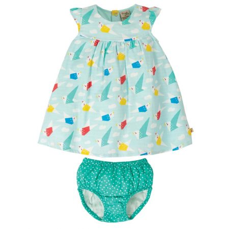 outfit in mussola origami 3-6 mesi - Frugi