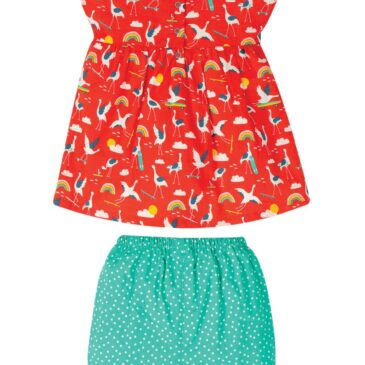 outfit cicogne 3-6 mesi - Frugi