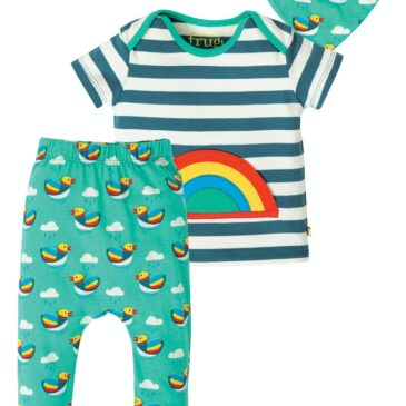 Outfit arcobaleno 18-24 mesi - Frugi