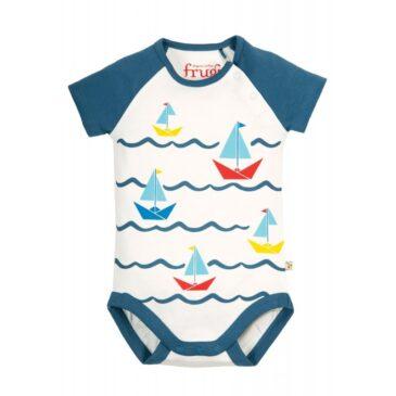 Body bodhi boats 0-3 mesi - Frugi