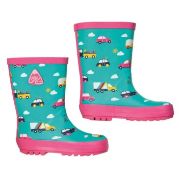 stivali pioggia pink car n.24 - Frugi
