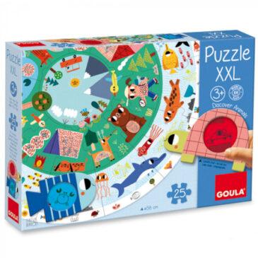 Puzzle XXL animali da scoprire - Goula