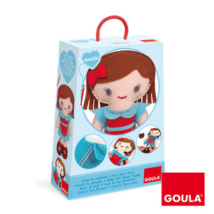 Annick bambola da cucire - Goula