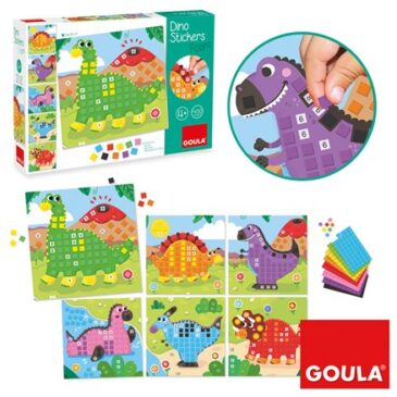 Dino stickers - Goula