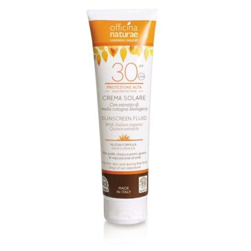 Officina Naturae Crema Solare protezione Alta 30 SPF - 125 ml