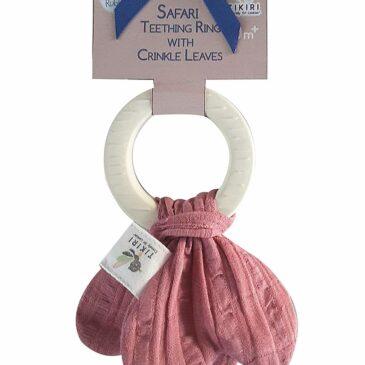 Anello rosa da dentizione - Tikiri