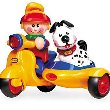 Scooter bimba e cagnolino - Tolo toys
