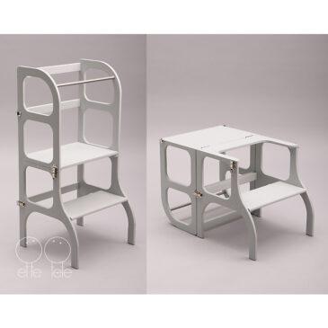 Learning tower/tavolino color grigio - Ette tete