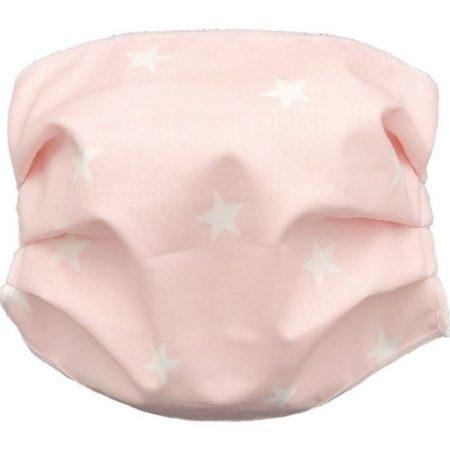 Mascherina per bambini 2-10 anni rosa - Andy & Helen