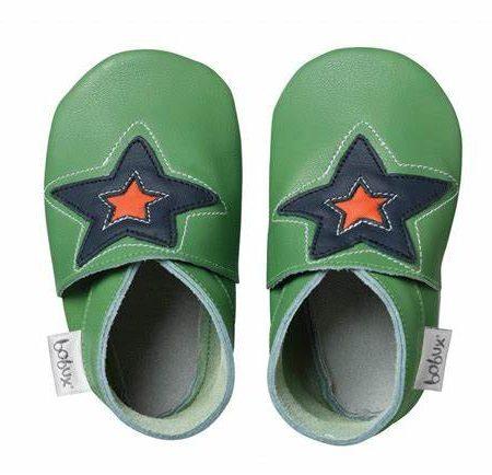 Babbucce taglia 16-17 S Green astro star - Bobux