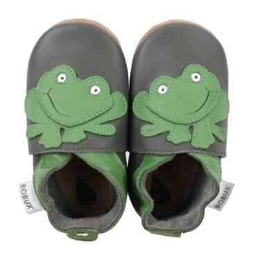 Babbucce taglia 16-17 S Dark green frog - Bobux