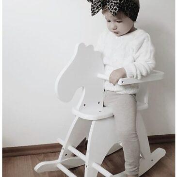 Cavallo a Dondolo Bianco - Childhome