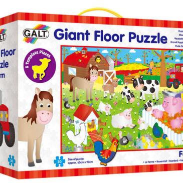 Floor puzzle gigante fattoria - Galt
