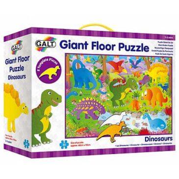 Floor puzzle gigante dinosauri - Galt
