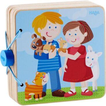 libro in legno amici animali - Haba