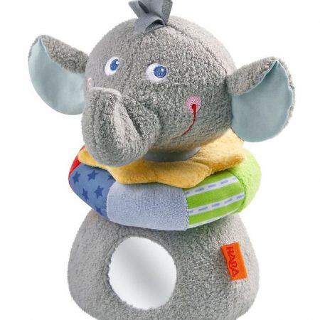 Elefante morbido da impilare - Haba