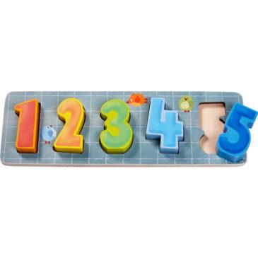 Primi puzzle contiamo - Haba