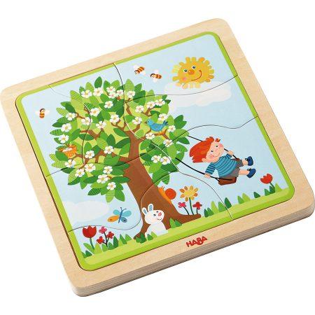 Primi puzzle stagioni - Haba