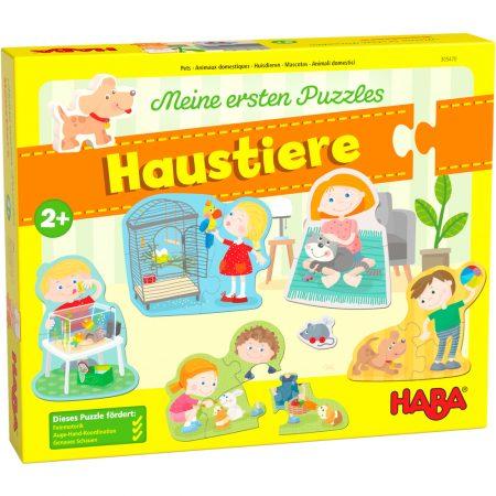 """Primi puzzle """"Animali domestici"""" - Haba"""