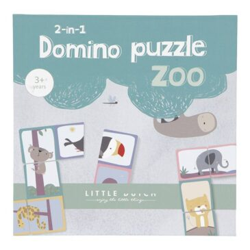 Domino puzzle zoo - Little Dutch