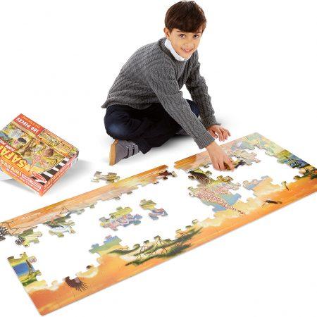 Floor puzzle safari 100 - Melissa and Doug