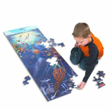 floor puzzle under the sea - Melisasa and Doug