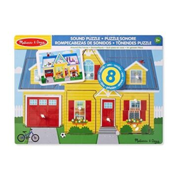 around the house sound puzzle - Melissa and doug