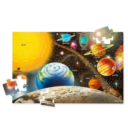 Floor puzzle sistema solare - Melissa and doug