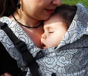 Neko Switch Baby size Lokum Hazel - Marsupio ergonomico regolabile