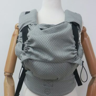 Neko Switch Baby size Grey Diamond - Marsupio ergonomico regolabile