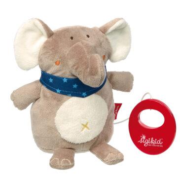 Carillon elefante con musica Brahms' lullaby - Sigikid