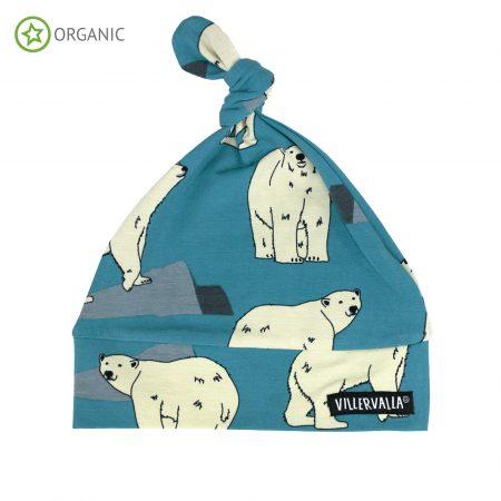 Cappellino con nodo Orso polare - Villervalla