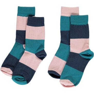 Set 2 calzini a righe - Maxomorra