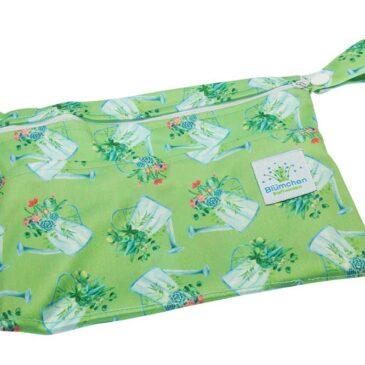 Wet Bag Mini Lovely Flowers - Blümchen Stoffwindeln