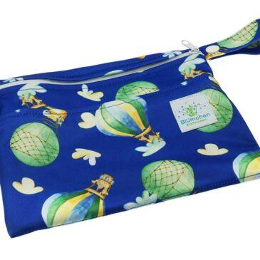 Wet Bag Mini Balloon - Blümchen Stoffwindeln