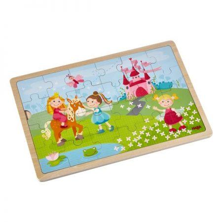 Puzzle in legno principesse 24pz. - Haba