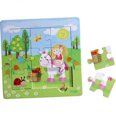 puzzle giardino delle fate