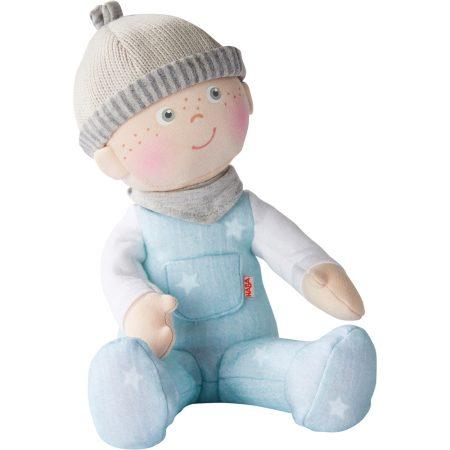 Bambola da coccolare celeste - Haba