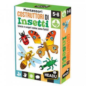 Costruttori di insetti Montessori - Headu