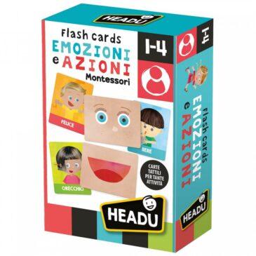 Flash cards Emozioni e azioni - Headu